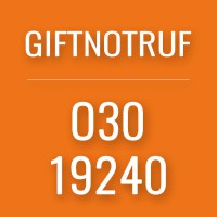 Giftnotruf-Button